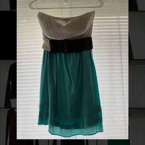 Blue/White Dress